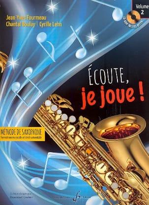 Ecoute, je joue ! Volume 2 - Saxophone laflutedepan