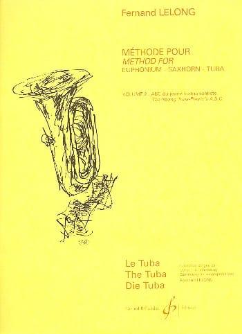 ABC du Jeune Tubiste Volume 2 - Fernand Lelong - laflutedepan.com