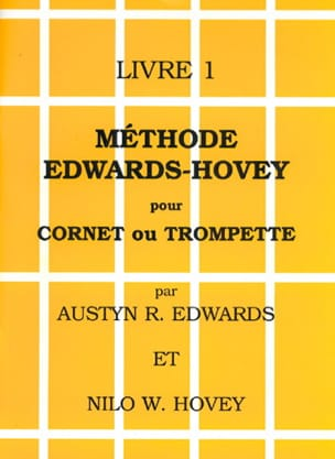 Méthode Livre 1 Edwards - Hovey Partition Trompette - laflutedepan