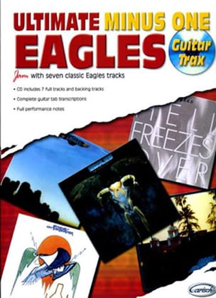 Ultimate Minus One - Guitar Trax Eagles Partition laflutedepan