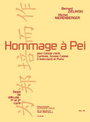 Hommage A Pei Zielinski Bernard / Nierenberger Michel laflutedepan