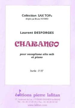Charango Laurent Desforges Partition Saxophone - laflutedepan