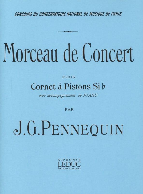 Morceau de Concert - J.G. Pennequin - Partition - laflutedepan.com