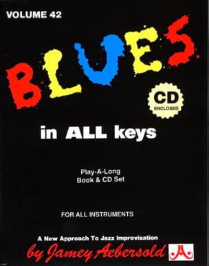 Volume 42 - Blues In All Keys METHODE AEBERSOLD Partition laflutedepan