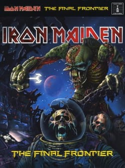 The Final Frontier Iron Maiden Partition Pop / Rock - laflutedepan