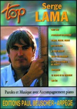 Top Serge Lama Serge Lama Partition Chanson française - laflutedepan