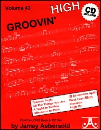 Volume 43 - Groovin' High METHODE AEBERSOLD Partition laflutedepan