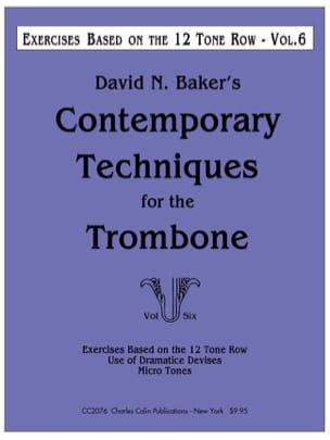 Contemporary techniques for the trombone volume 6 laflutedepan