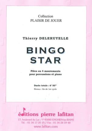 Bingo star Thierry Deleruyelle Partition Vibraphone - laflutedepan