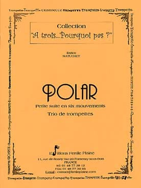 Polar - Enrico Matuchet - Partition - Trompette - laflutedepan.com