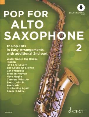 Pop For Alto Saxophone - Volume 2 Partition Saxophone - laflutedepan