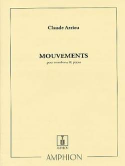 Mouvements - Claude Arrieu - Partition - Trombone - laflutedepan.com