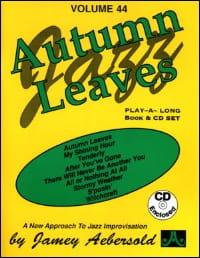 Volume 44 - Autumn Leaves METHODE AEBERSOLD Partition laflutedepan