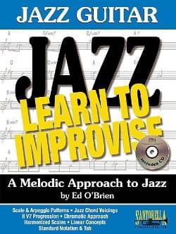 Jazz Guitar - Learn To Improvise - Brian Ed O' - laflutedepan.com