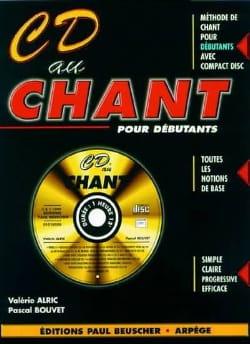 CD Au Chant Alric Valérie / Bouvet Pascal Partition laflutedepan