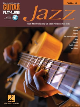 Guitar Play-Along Volume 16 - Jazz Guitar Partition laflutedepan