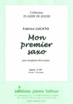 Mon Premier Saxo Fabrice Lucato Partition Saxophone - laflutedepan