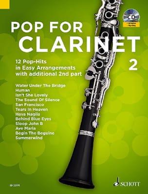 Pop For Clarinet - Volume 2 Partition Clarinette - laflutedepan