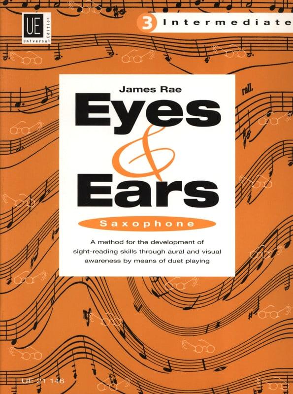 Eyes & Ears Volume 3 - Intermediate - James Rae - laflutedepan.com