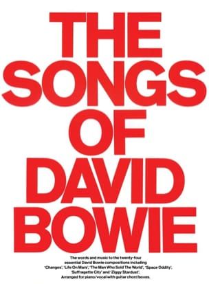 The Songs Of David Bowie David Bowie Partition laflutedepan