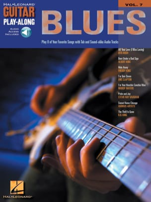 Guitar Play-Along Volume 7 - Blues Guitar Partition laflutedepan