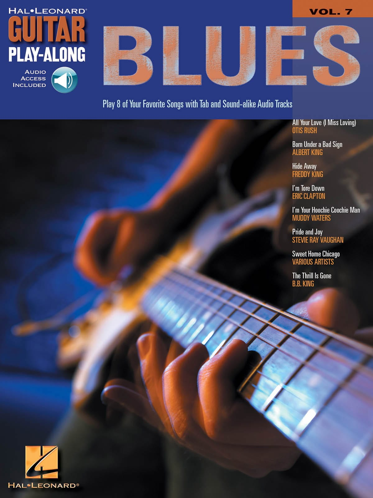 Guitar Play-Along Volume 7 - Blues Guitar - laflutedepan.com