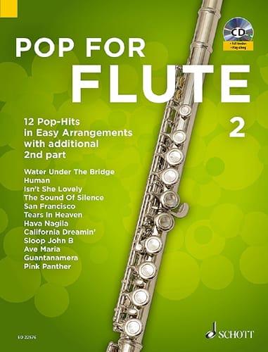 Pop For Flute - Volume 2 - Partition - laflutedepan.com