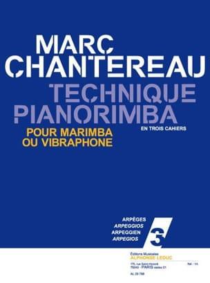 Marc Chantereau - Technique Pianorimba Notebook 3 - Arpeggios - Partition - di-arezzo.co.uk