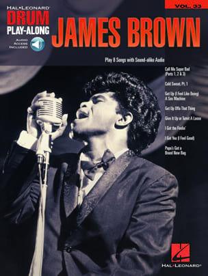 Drum Play-Along Volume 33 - James Brown James Brown laflutedepan