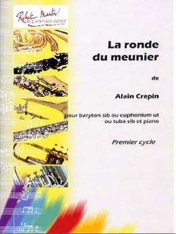 La Ronde du Meunier - Alain Crepin - Partition - laflutedepan.com