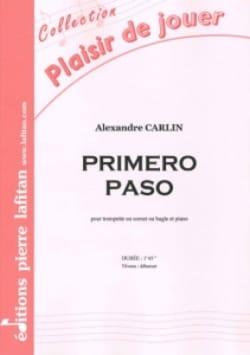 Primero paso - Alexandre Carlin - Partition - laflutedepan.com