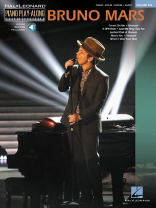Piano play-along volume 126 - Bruno Mars Bruno Mars laflutedepan