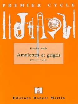 Amulettes et grigris Francine Aubin Partition laflutedepan
