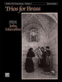 Trios For Brass Treble Clef Volume 1 - Intermediate laflutedepan