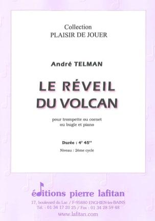 Le Réveil du Volcan André Telman Partition Trompette - laflutedepan