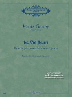 Le Val Fleuri Louis Ganne Partition Saxophone - laflutedepan