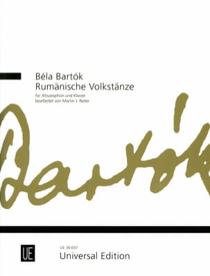 Romanian Folk Dances BARTOK Partition Saxophone - laflutedepan