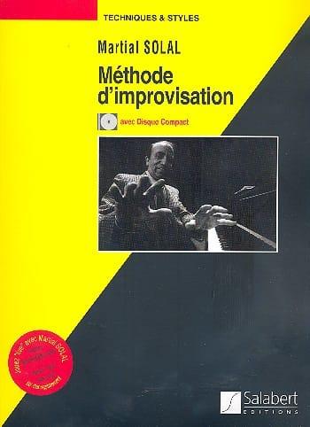 Méthode D'improvisation - Martial Solal - Partition - laflutedepan.com