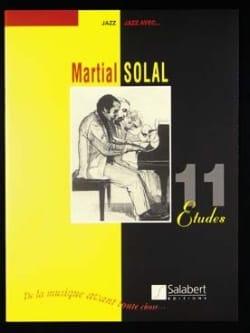 11 Etudes Martial Solal Partition Jazz - laflutedepan