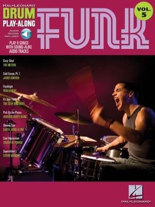 Drum play-along volume 5 - Funk - Partition - laflutedepan.com