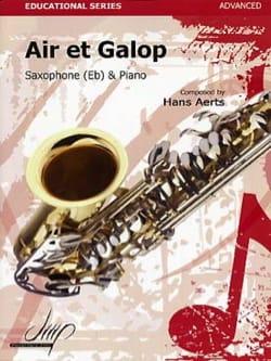 Air et galop Hans Aerts Partition Saxophone - laflutedepan