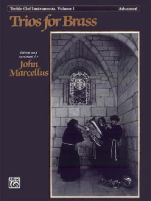 Trios For Brass Treble Clef Volume 1 - Advanced - laflutedepan.com