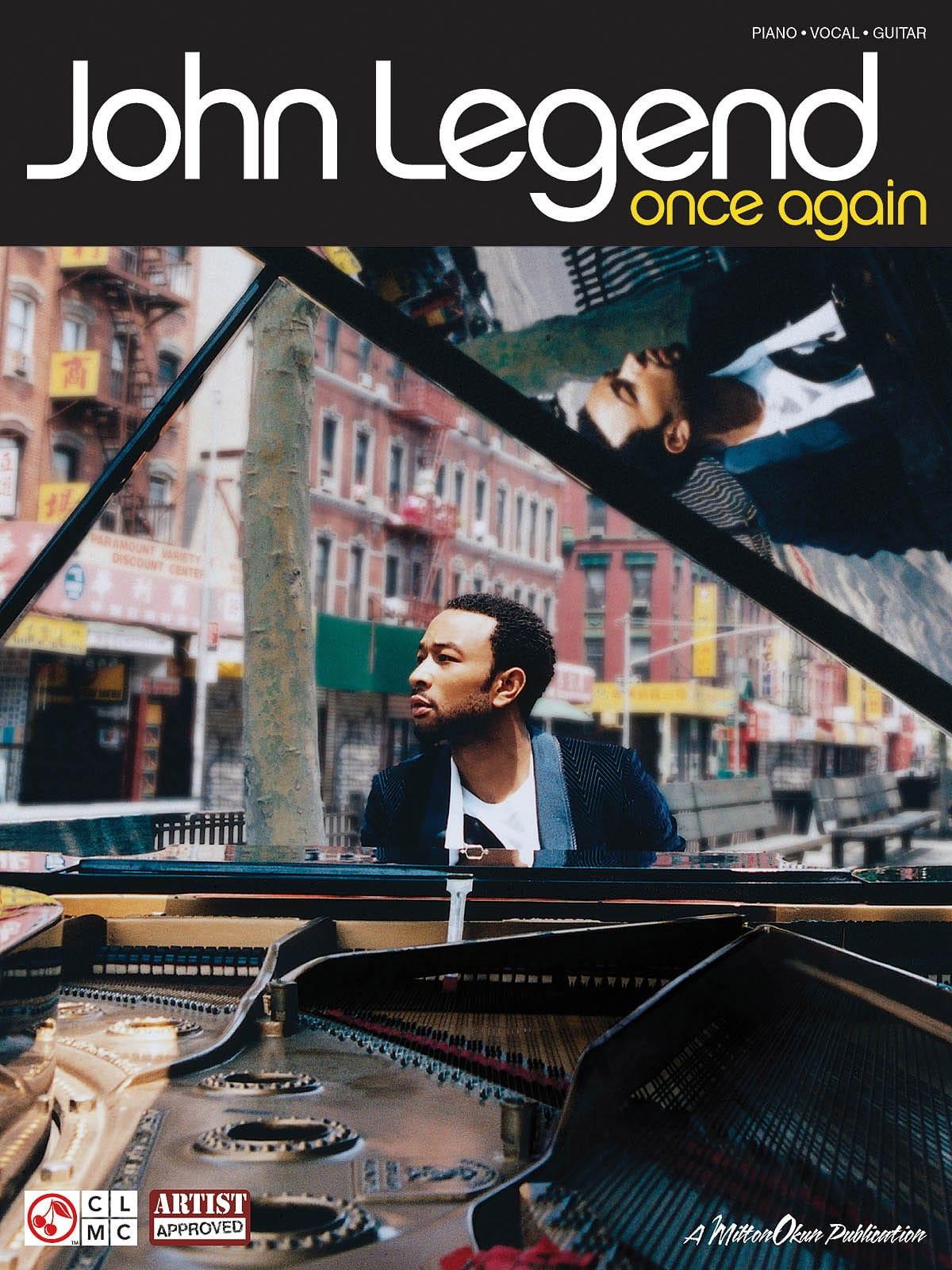 Once Again - John Legend - Partition - Pop / Rock - laflutedepan.com