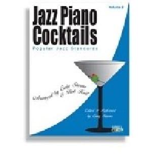 Jazz Piano Cocktails Volume 2 - Partition - laflutedepan.com