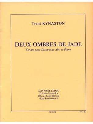 2 Ombres de Jade Sonate Kynaston Partition Saxophone - laflutedepan