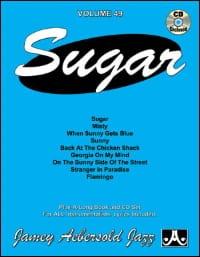Volume 49 - Sugar METHODE AEBERSOLD Partition Jazz - laflutedepan
