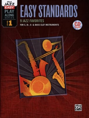 Alfred jazz easy play-along series volume 1 - Easy standards - laflutedepan.com