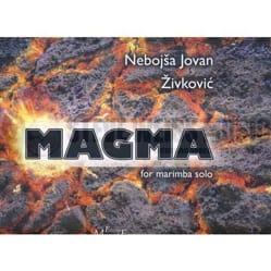 Magma Nebojsa jovan Zivkovic Partition Marimba - laflutedepan