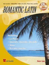 Romantic Latin Partition Flûte à bec - laflutedepan