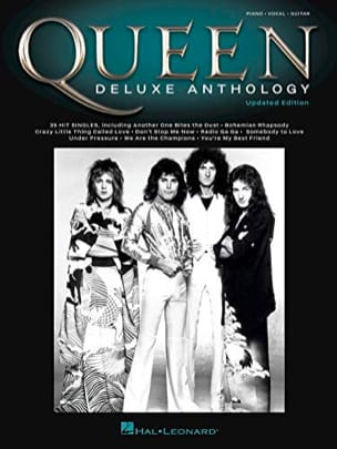 Deluxe Anthology Queen Partition Pop / Rock - laflutedepan